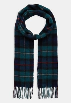 Barbour - NEW CHECK TARTAN SCARF - Szal - blue