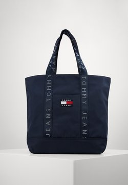Tommy Jeans - HERITAGE TOTE - Shopping bag - blue