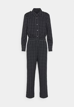 Scotch & Soda - ALL IN ONE IN SPECIAL CHECK QUALITY - Jumpsuit - blue