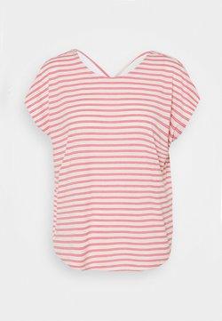 Vero Moda - VMALONA - T-Shirt basic - honeysuckle/white