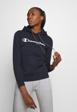Champion - ESSENTIAL HOODED LEGACY - Huppari - dark blue
