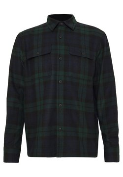 Nudie Jeans - STEN - Skjorta - dark green/dark blue