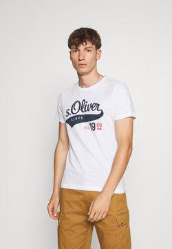 s.Oliver - T-shirt imprimé - white