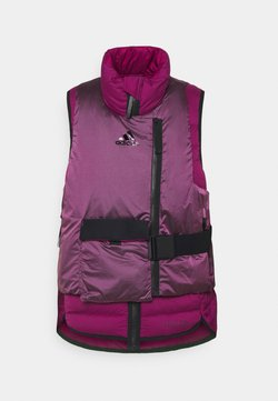 adidas Performance - URBAN COLD.RDY OUTDOOR VEST 2 in 1 - Liivi - powber