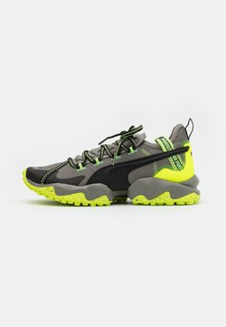 Puma - ERUPT TRL - Zapatillas de trail running - ultra gray/fizzy yellow