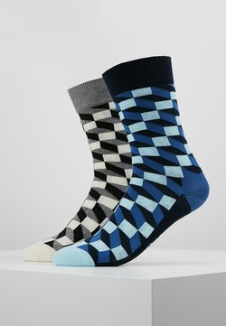 Happy Socks - FILLED OPTIC 2 PACK - Socken - multi-coloured
