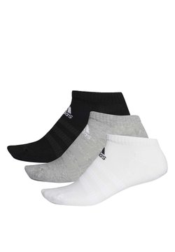 adidas Performance - 3 STRIPES CUSHIONED NO SHOW 3 PAIR PACK - Sportsocken - grey