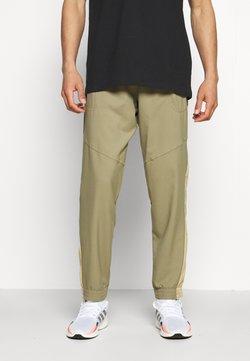 adidas Performance - SEASO PANT - Spodnie treningowe - orbit green/black