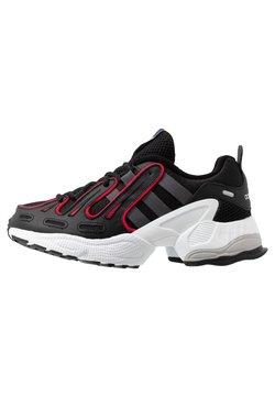 adidas Originals - EQT GAZELLE RUNNING-STYLE SHOES - Baskets basses - core black/grey six/energie pink