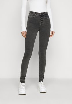 ONLY Tall - ONLBLUSH BUTTON - Jeans Skinny Fit - black