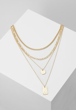 Pieces - PCOKIA COMBI NECKLACE - Smykke - gold-coloured