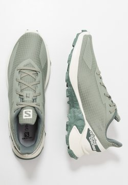 Salomon - ALPHACROSS BLAST - Zapatillas de trail running - shadow/vanilla/castor gray