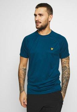 Lyle & Scott - CORE RAGLAN - T-Shirt basic - deep fjord