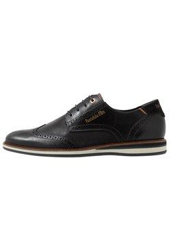 Pantofola d'Oro - RUBICON UOMO LOW - Veterschoenen - black