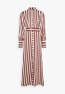 YAS Tall - YASNIA LONG DRESS - Blusenkleid - rum raisin