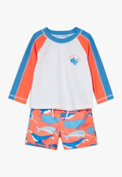 GAP - WHLE SWIM SET - Uimapuku - neon coral flame