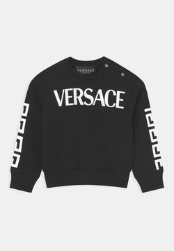 Versace - LOGO GRECA UNISEX - Sudadera - nero/bianco