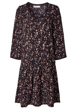 Promod - COL V - Robe d'été - imprimé noir