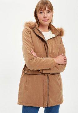 DeFacto - Abrigo corto - brown