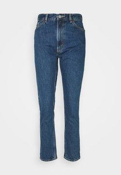 Monki - KIMOMO LA LUNE - Jeans Straight Leg - blue medium dusty