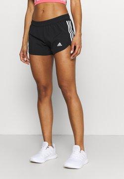 adidas Performance - RUN IT SHORT - Pantalón corto de deporte - black/white