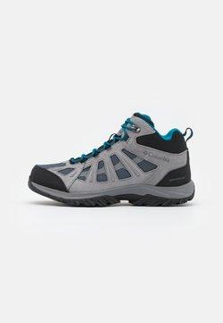 Columbia - REDMOND III MID WATERPROOF - Hiking shoes - graphite/black
