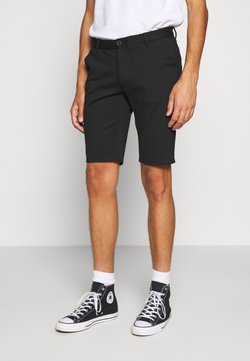 Denim Project - PONTE SHORTS - Shorts - black