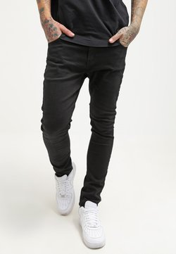 Pier One - Jeans slim fit - black denim