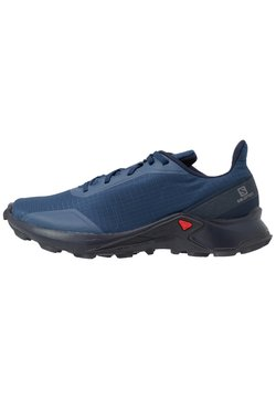 Salomon - ALPHACROSS - Zapatillas de trail running - sargasso sea/navy blazer/india ink
