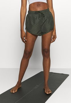 Cotton On Body - MOVE JOGGER SHORT - Pantalón corto de deporte - khaki lazer
