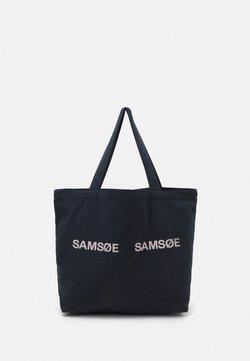 Samsøe Samsøe - FRINKA SHOPPER - Shoppingväska - sky captain