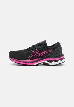 ASICS - GEL-KAYANO 27 - Zapatillas de running estables - black/pink glow