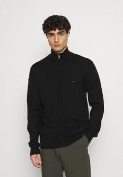 Tommy Hilfiger Tailored - LUXURY ZIP THROUGH - Vest - black