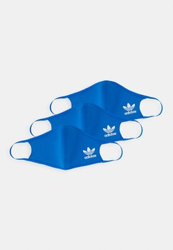 adidas Originals - FACE 3 PACK UNISEX - Stofmaske - bluebird