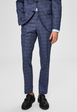 Selected Homme - Anzughose - blue
