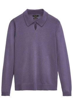 Massimo Dutti - Sweter - dark purple