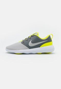 Nike Golf - ROSHE G - Golfschuh - smoke grey/grey fog/white/lemon