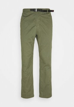 Gramicci - PANTS JUST CUT - Chinot - olive