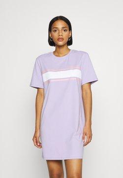 Hollister Co. - CHEST STRIPE DRESS - Jerseykleid - lavender