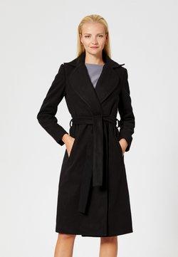 RISA - Klassischer Mantel - blac