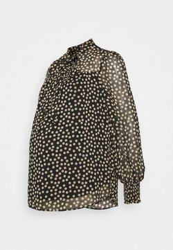 Dorothy Perkins Maternity - SPOT PRINT LONG SLEEVE TIE NECK - Blusa - multi coloured