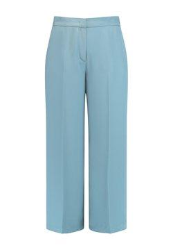 Gerry Weber - CULOTTE MIT BÜGELFALTE - Pantalon classique - dusty blue