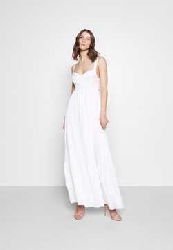 YAS - YASWINONA STRAP MAXI DRESS - Ballkleid - star white