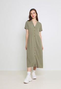 Envii - ENNAPLES DRESS - Maxikleid - deep lichen green