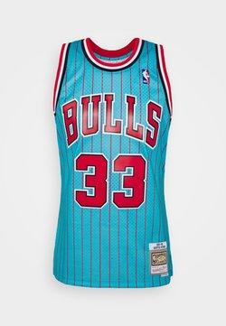 Mitchell & Ness - NBA CHICAGO BULLS RELOAD 2.0 SWINGMAN SCOTTIE PIPPEN - Pelipaita - light blue