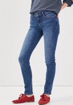 BONOBO Jeans - MIT DESTROY-DETAILS - Vaqueros slim fit - denim stone