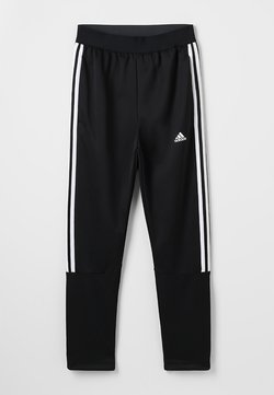 adidas Performance - TIRO STADIUM LEAGUE AEROREADY PANTS - Verryttelyhousut - black/white