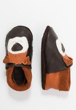 POLOLO - HUND EDDY - Chaussons pour bébé - braun