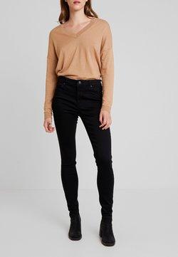ONLY - ONLDOOLEY MID REA - Jeans Skinny Fit - black denim
