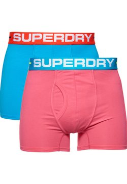 Superdry - 2 PACK - Shorty - pink